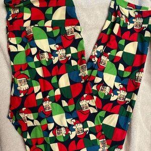 LuLaRoe NWT Christmas leggings TC